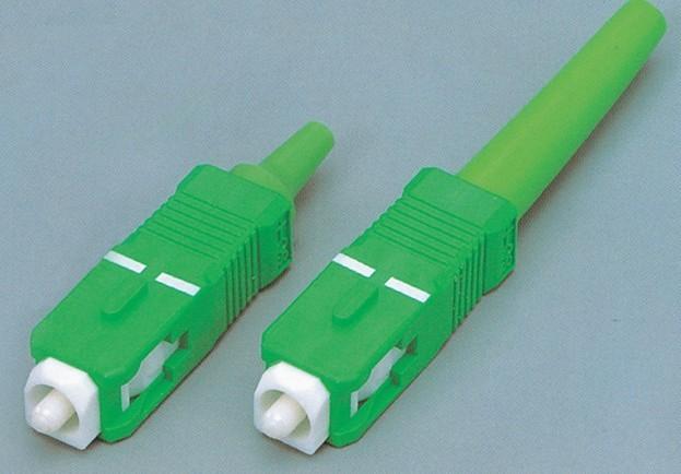 光纤连接器图片 光纤连接器样板图 FC光纤连接器适配器法...