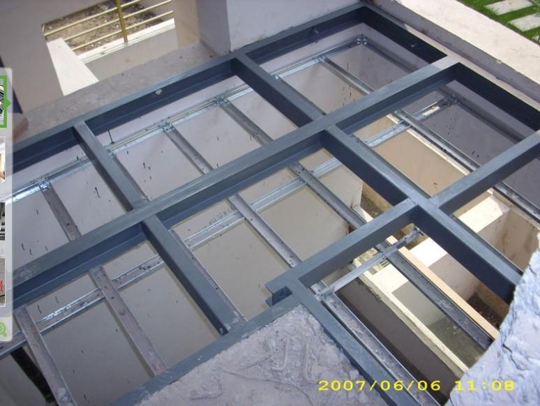 钢结构_钢结构供货商_供应loft楼板loft钢结构夹层板