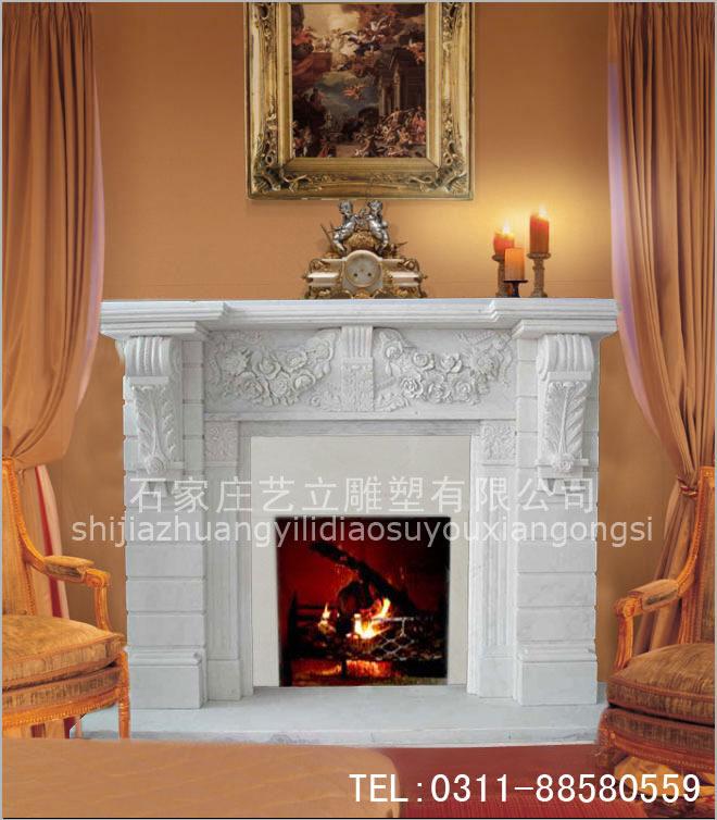 石家庄艺立雕塑有限公司生产供应欧式壁炉新乐市壁炉