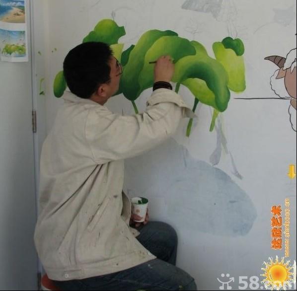 墙绘培训,手绘墙培训,墙体彩绘培训,壁画培训,墙画培训