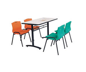 供应江门玻璃钢餐桌
