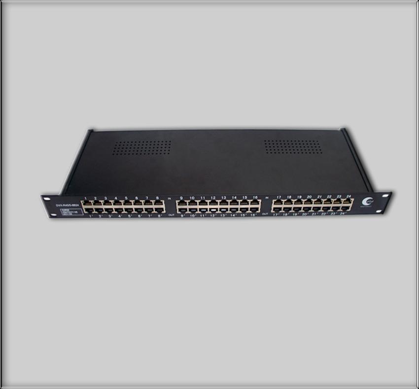 供应网络交换机数据线RJ45防雷器15981919262