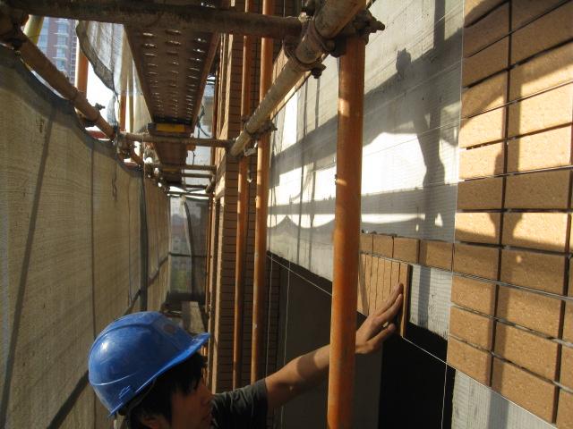 瓷砖胶泥图片 瓷砖胶泥样板图 外墙瓷砖胶泥大连厂家 大连高清图片