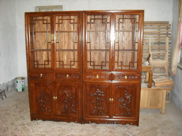供应明清仿古家具老榆木古典家具书柜-明清老榆木仿古家具