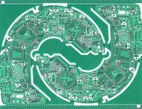 供应广东线路板厂家-双面电路板-双面喷锡PCB板
