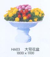 供应玻璃钢花盆图片