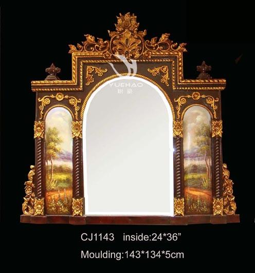 供应欧式镜框欧式镜子穿衣镜落地镜装饰镜酒店会所专用
