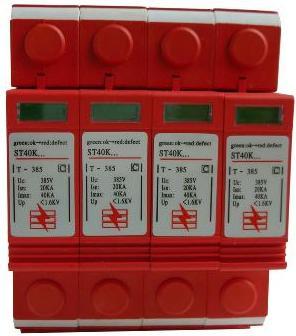 供应交流电源防雷器三相四线图片