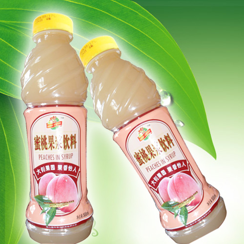 天然桃原浆/高质量/果肉回香技术