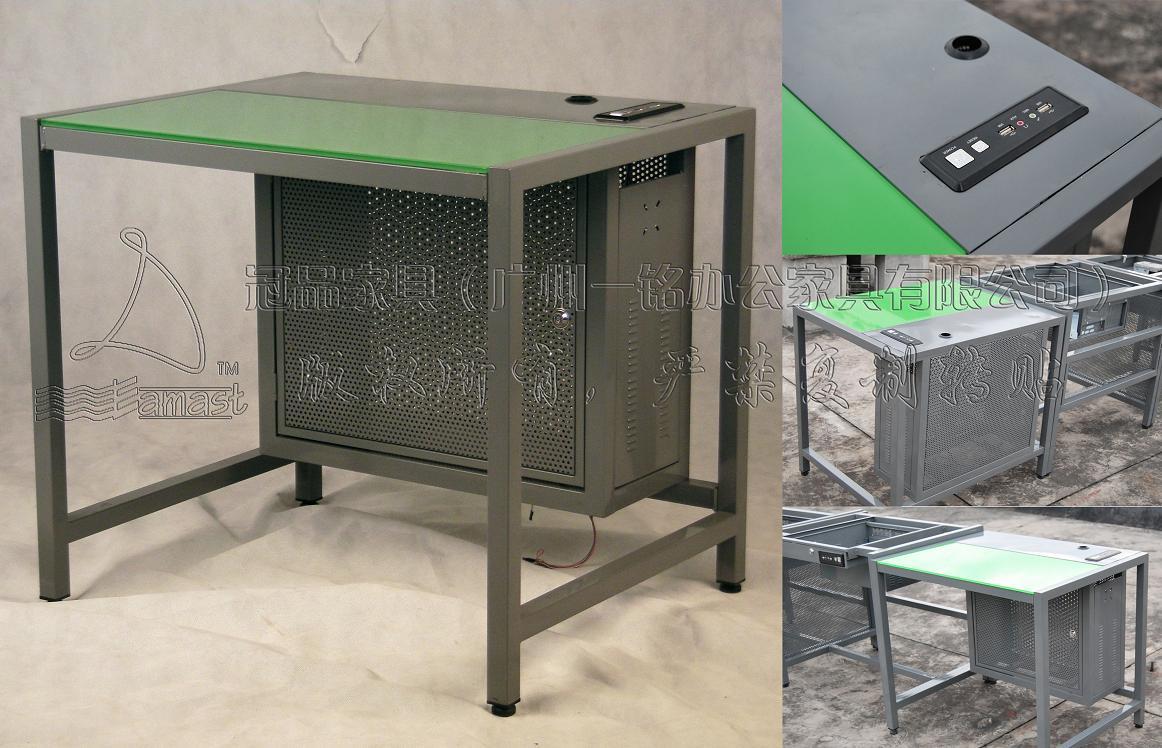 供应网吧电脑桌子WT001R