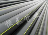 PE燃气管材PE燃气管大口径图片