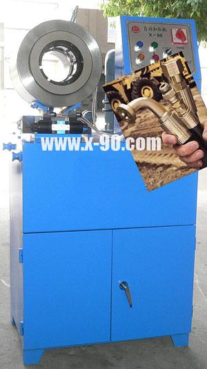 供应x90扣压机x90扣管机图片