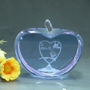 水晶苹果图片