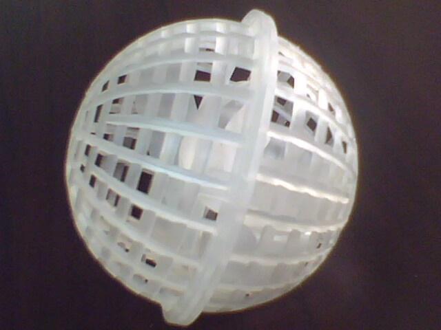 水处理生物悬浮球填料图片