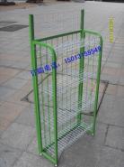 绿色迷你型网架面包架展示架图片