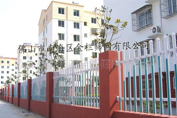 供应专业生产PVC围墙护栏图片