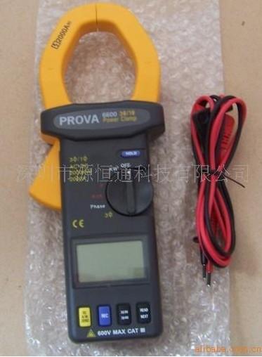 PROVA6600台湾泰仕三相钩式电力计PROVA-6600