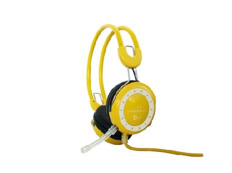 供应牧音王f1高保真耳机带独立麦克