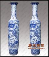 景德镇陶瓷花瓶落地大花瓶图片