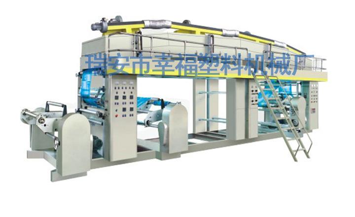供应用于薄膜的QDF型系列光电纠偏高速复合机图片