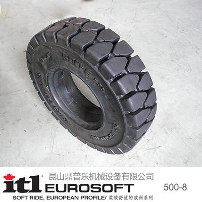 供应实心轮胎500-8