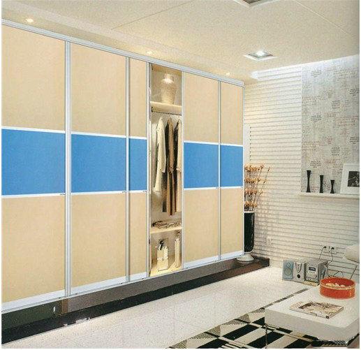 衣柜橱柜板式衣柜实木衣柜钢木结构图片
