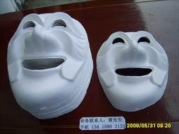 纸浆工艺品面具、东莞纸浆工艺品面具厂家批发、东莞纸浆工艺品面具厂家价格