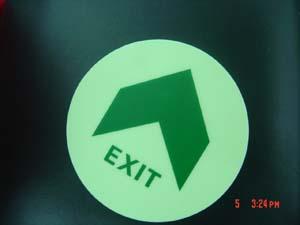 供应蓄光型自发光消防地面疏散指示标志图片