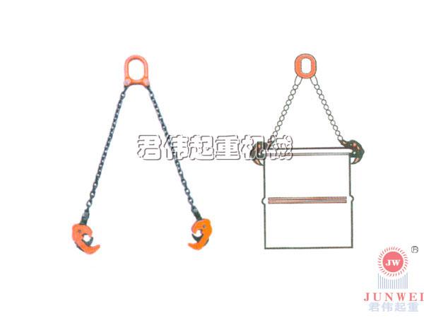 沪峰油桶夹sl型双链油桶吊具批发
