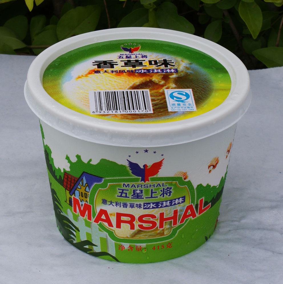 冰淇淋_冰淇淋供货商_供应五星上将桶装系列冰淇淋
