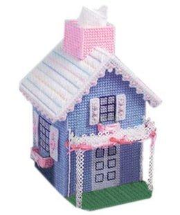 纸巾盒_纸巾盒供货商_供应立体绣房型纸巾盒c23