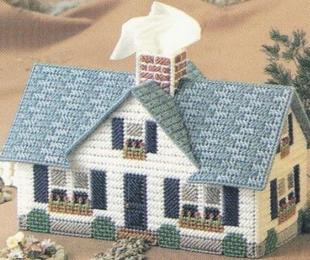 纸巾盒_纸巾盒供货商_供应立体绣房型纸巾盒6