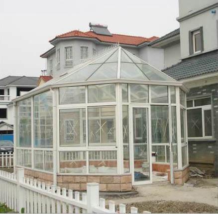 供应别墅阳光房塑钢窗