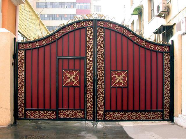 Iron gate design wrought iron gate designs wrought iron gates - Iron Gate Design Wrought Iron Gate Designs Wrought Iron Gates 12