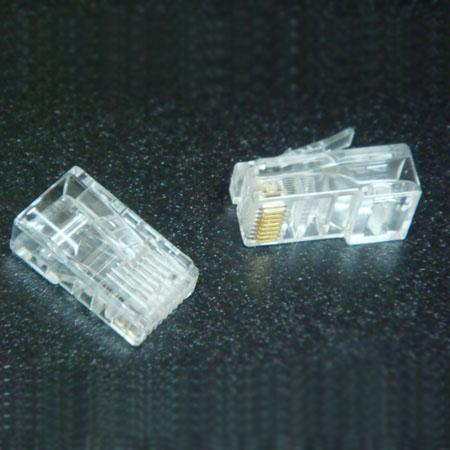 供应电话水晶头和网线水晶头