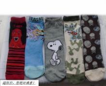 青岛地区供应卡通袜