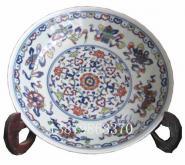 景德镇窑盛陶瓷斗彩瓷挂盘工艺礼图片