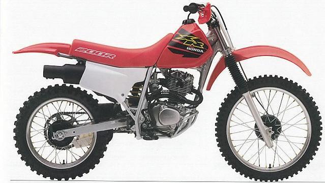 本田XR200R