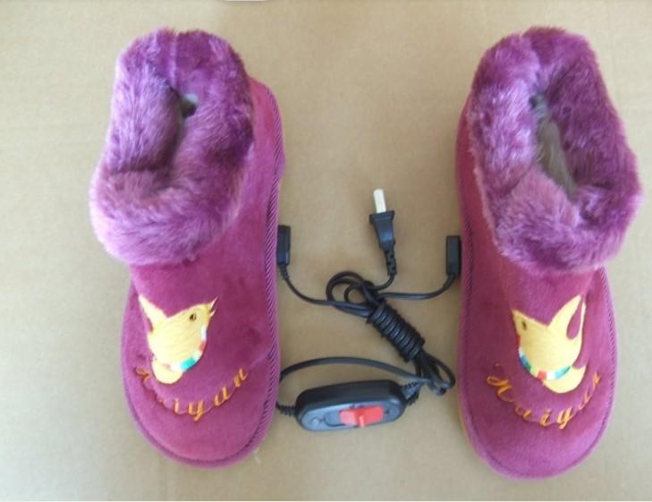 供应海燕电暖鞋充电保暖鞋批发usb保暖鞋价格批发