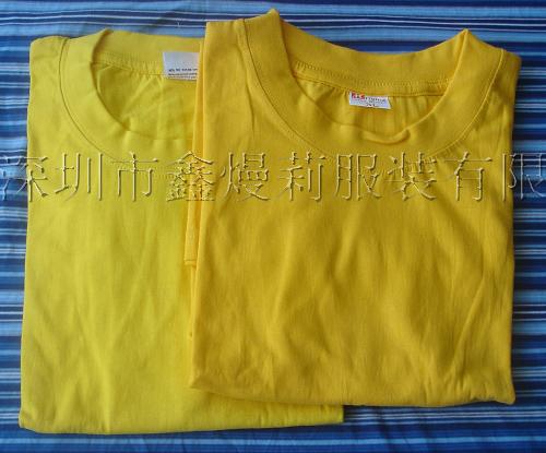 供应欧码文化衫-广告衫