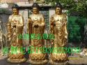 铜雕佛像文禄工艺品厂图片