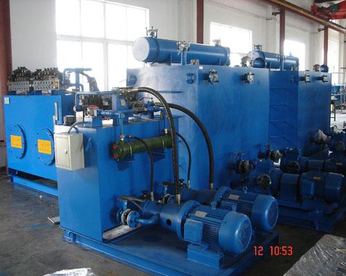 供应无缝钢管拉管机液压系统图片