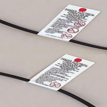 供应东莞电源线UL817不干胶标贴印,佛山UL标签纸批发