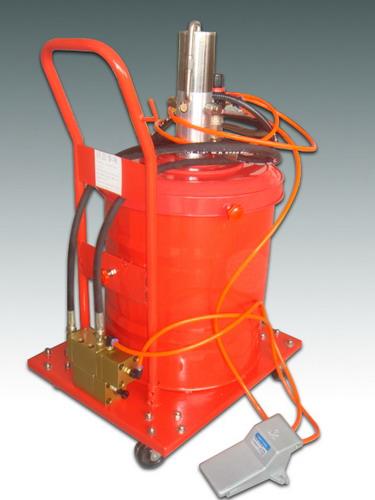 供应脚踏黄油机定量加注机厂家直供 黄油定量加注机高精度定量