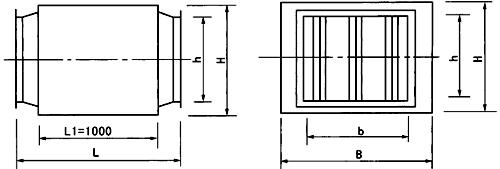 供应蒸汽排放消声器