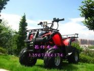 实用车型红色小公牛沙滩车125图片