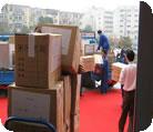 大型搬家物流图片
