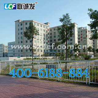 深圳市联诚发集团LED显示屏生产基地图片