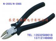 供应马牌N-206S电工斜嘴钳 第四代新包装 6寸电工钳
