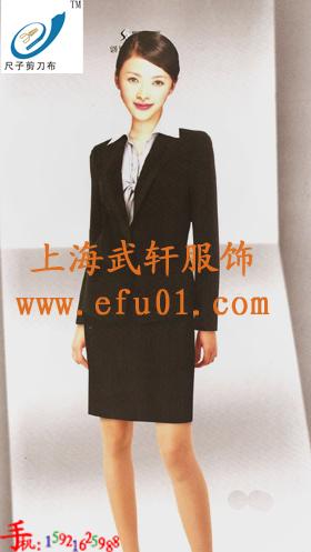 供应上海武轩服饰订做上海职业女西装